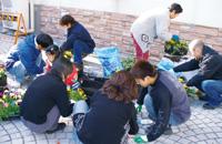 植栽ボランティア